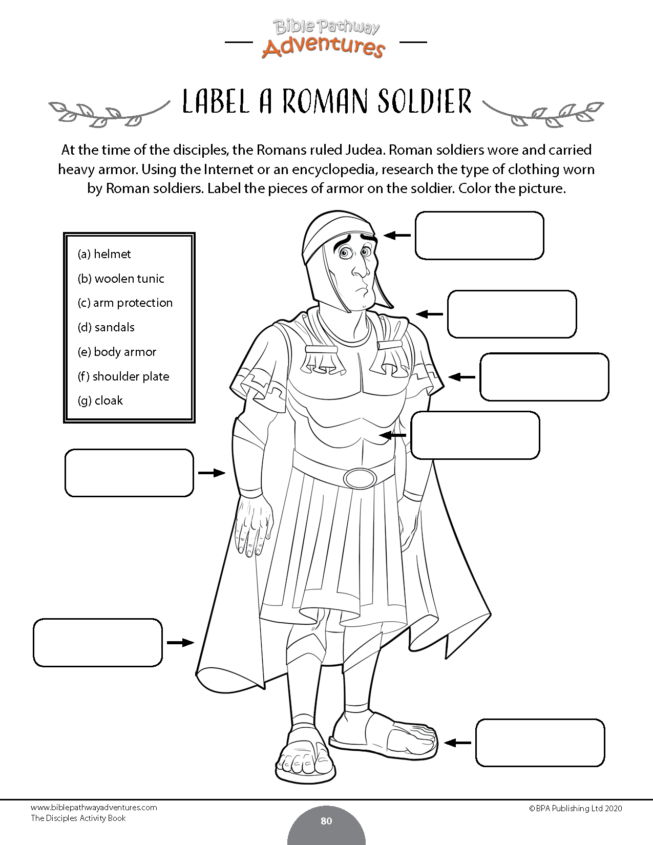 The 12 Disciples Activity Book In With Images