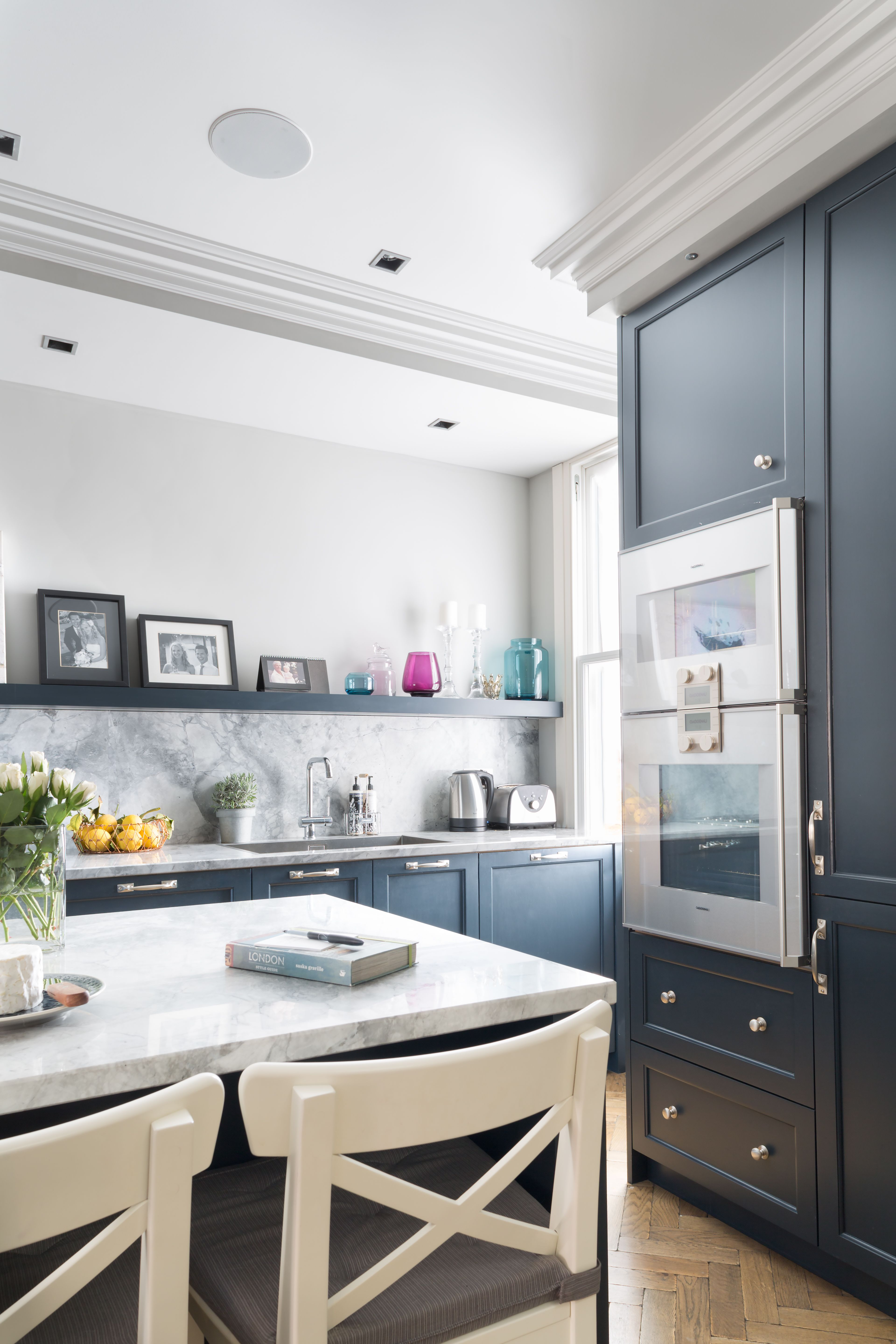 Modern Classic Kitchen Design: Bespoke Kitchen. Classic Tradition With A Touch Of
