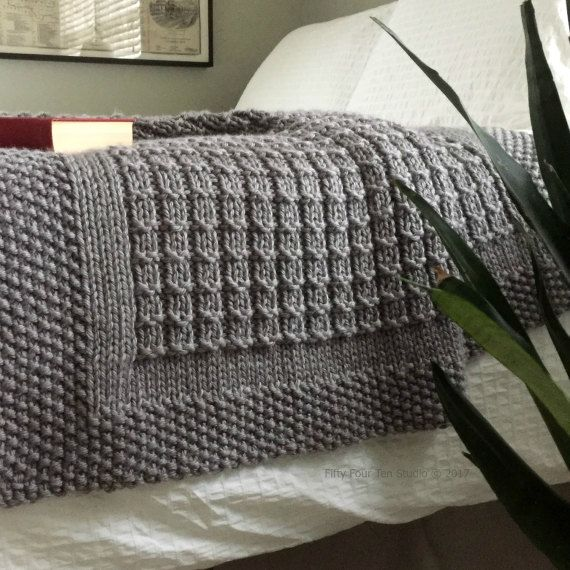 knitting pattern over the rooftops blanket throw afghan knit gift wedding baby. Black Bedroom Furniture Sets. Home Design Ideas