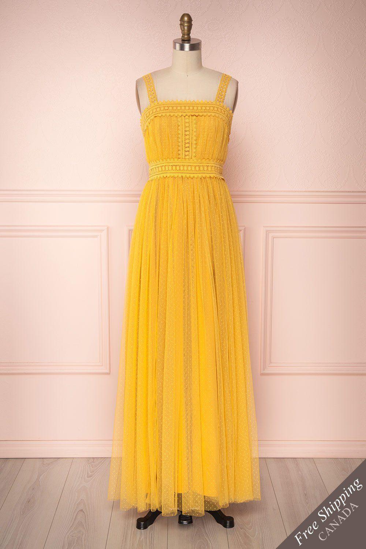 Hinerava Dresses Yellow Dress Summer Boutique Maxi Dresses [ 1500 x 1000 Pixel ]