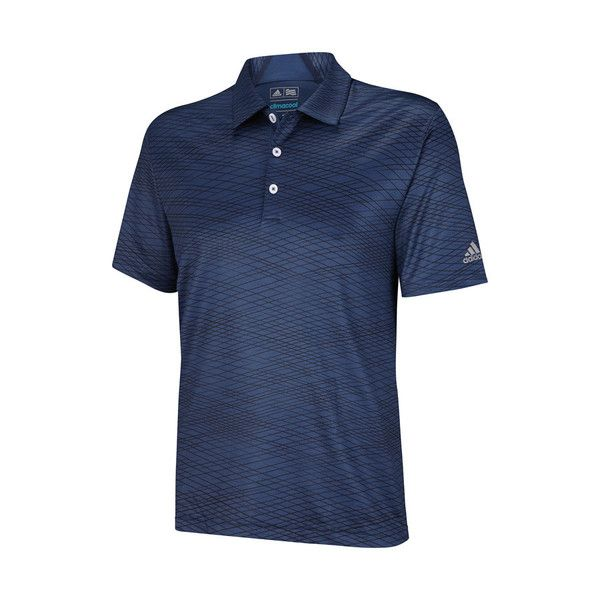 95088cd793 Find Adidas mens golf shirts and more at OnlyGolfApparel, like the Adidas  ClimaCool Collar Channel Print Polo with an energy graphic allover tonal  print.