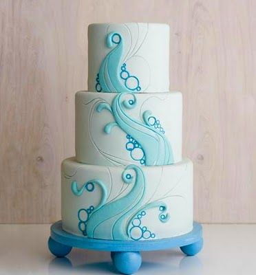 Many of you know Cakegirls from the show Amazing Wedding Cakes, or from Food Network cake challenges. Sisters Brenda and Mary and their staff have a reputation for fantastic, modern cake art, like this: