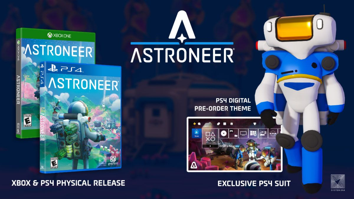 Astroneer Gets a PS4 Port Alongside a Retail Version (With