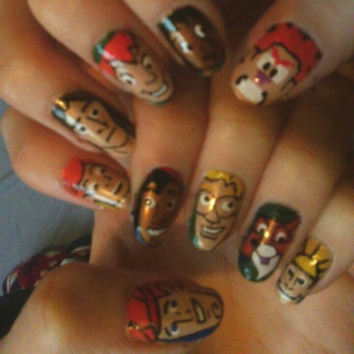 Disney Males Nails. Mowgli. Peter Pan. Wreck-it Ralph. Tarzan. Taran ...