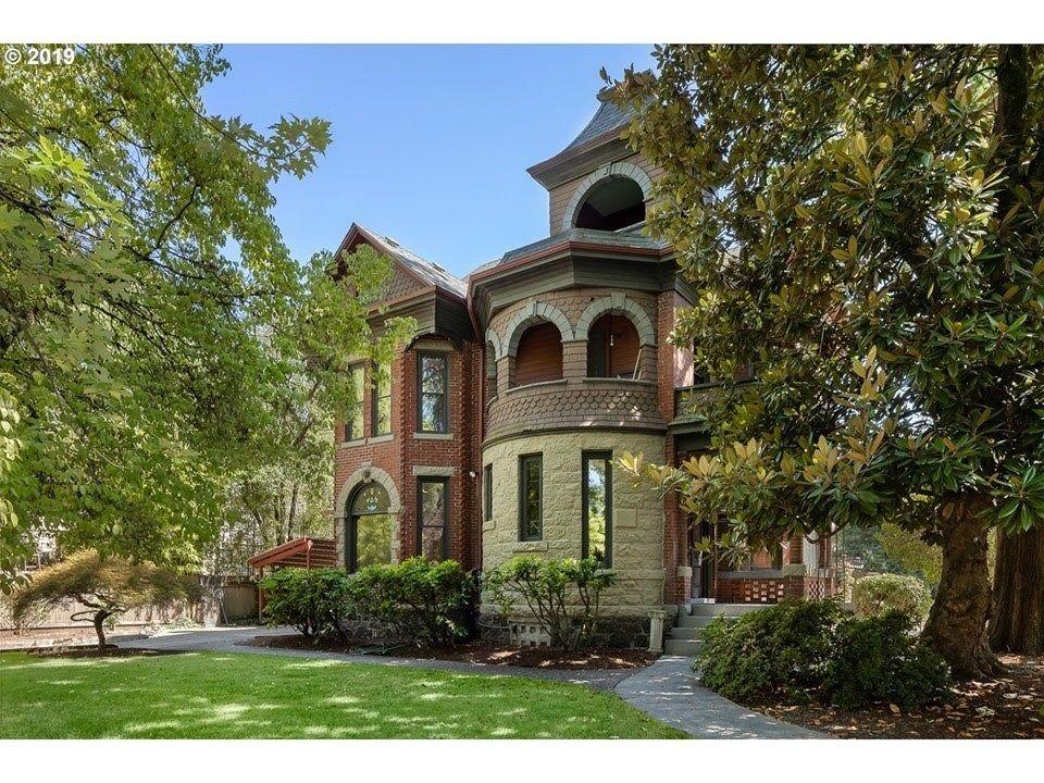 1892 Mansion In Portland Oregon Mansions, Mansions for