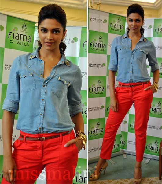 097f0199564a Deepika Padukone in Zara. | pretty, girly and sexy! | Deepika ...