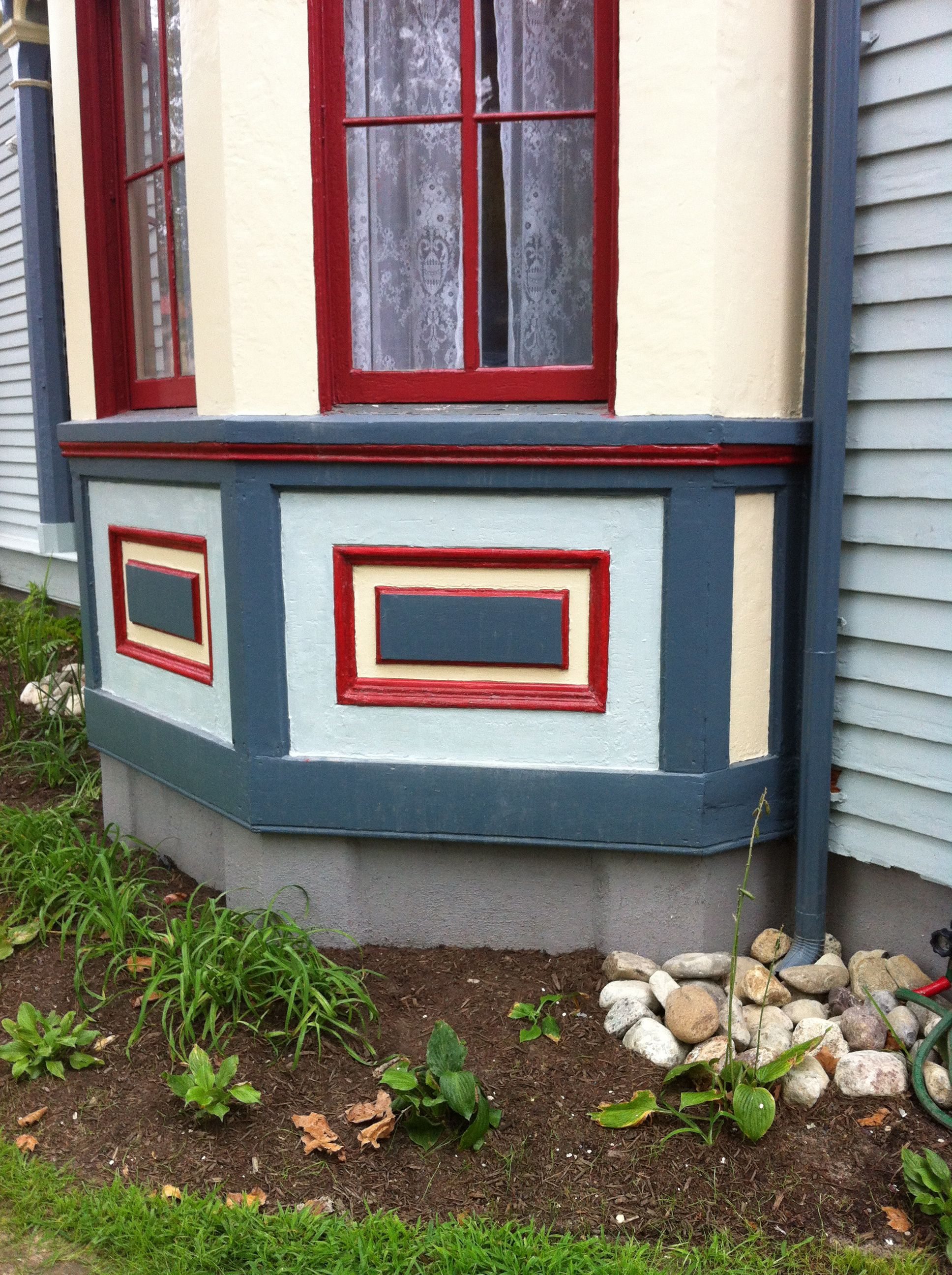 Dining Room Bay Window Box Painting The Abbey Pinterest