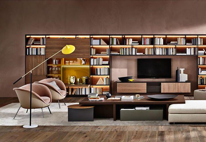 libreria-505-Tetris-Molteni-01 | bibliotecas y libreros | Pinterest ...