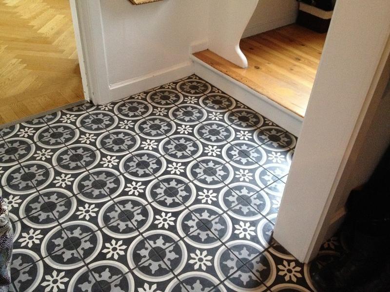 Carrelage imitation carreaux de ciment - un grand retour | Flooring ...