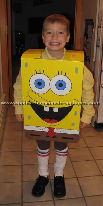 37c861672 11 Coolest Homemade Spongebob Costume Ideas | My life! | Spongebob ...
