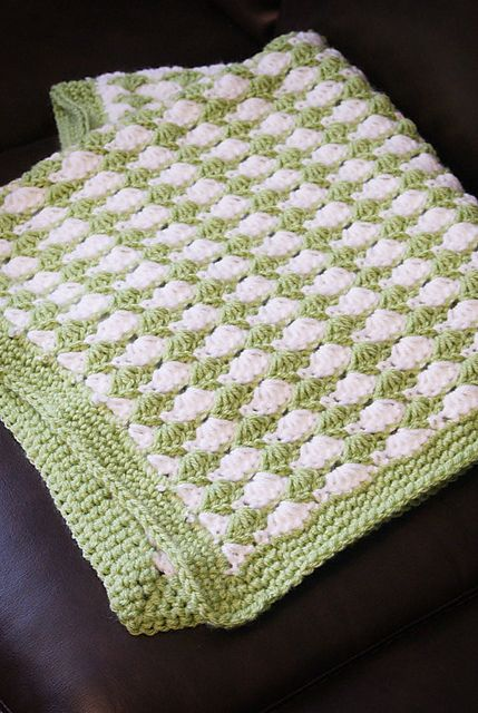Shell Stitch Blanket Pattern By Kristi Simpson Crochet With A Baby