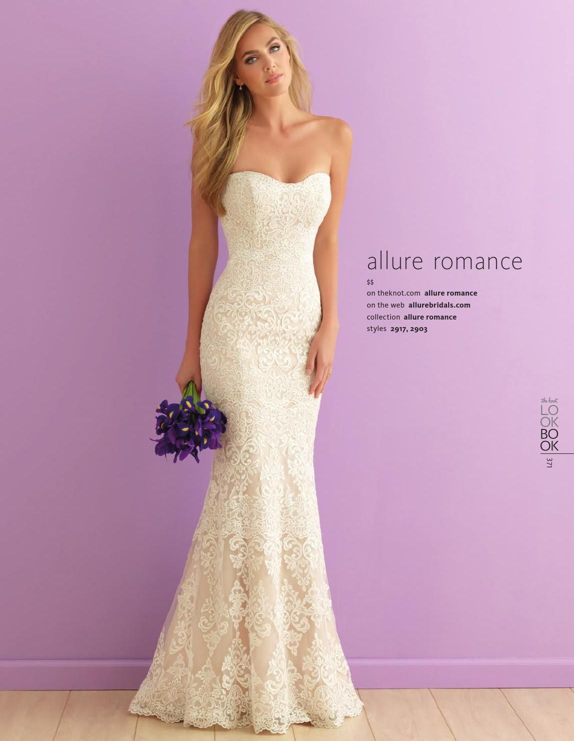 The Knot Spring 2016 Romance wedding dress, Wedding