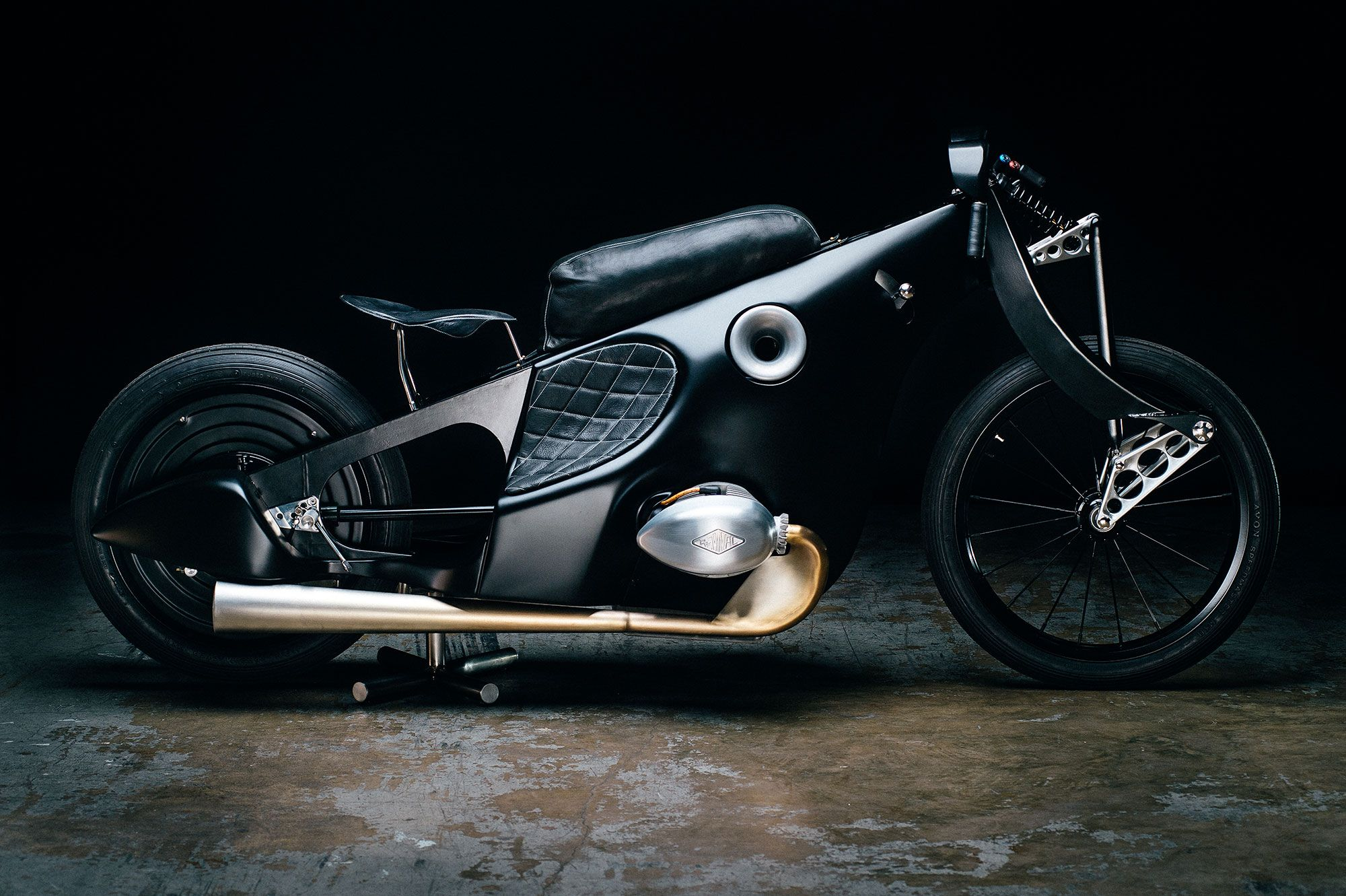 The bmw landspeeder from revival cycles motorcycle