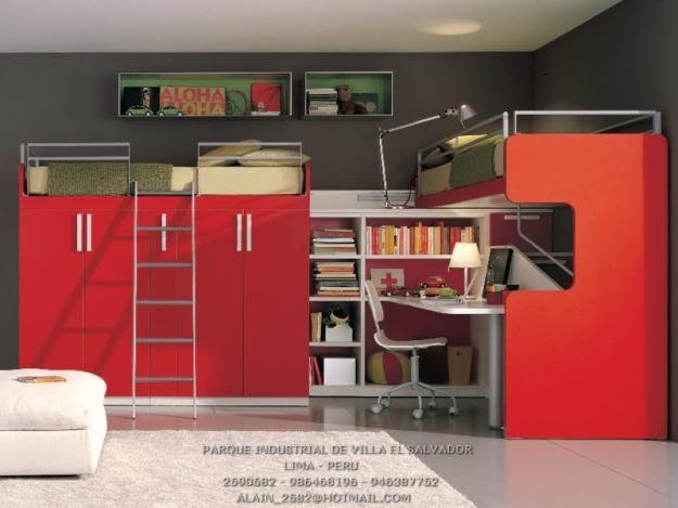 1318712990 264899731 4 camas y camarotes en melamina for Decoracion hogar lima