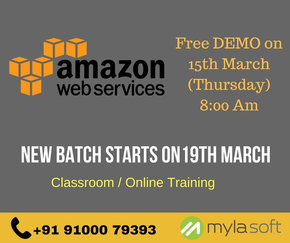 Attend for Free Demo on 15th March (Thursday) 800 Am Next