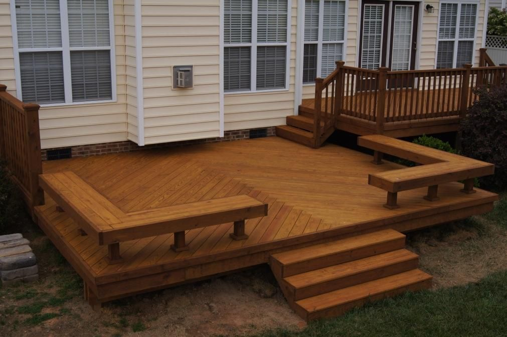 Deck bench plans deck designs ideas decks pinterest for Small deck seating ideas