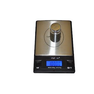 Homebrew Finds Precise Gram Scale And Calibration Weight 14 98 Digital Pocket Scale Laboratory Specimens Pocket Scale