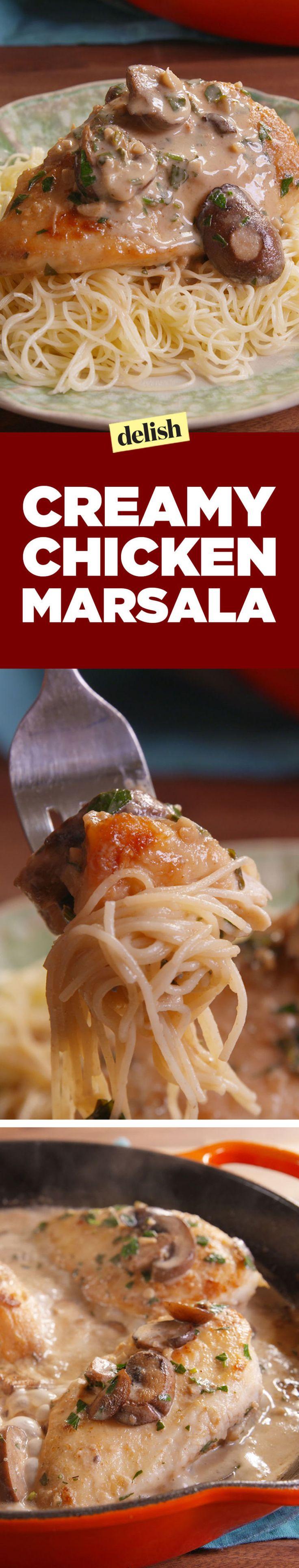 Creamy Chicken Marsala Is A Gift From Italian Gods Recipe Marsala Chicken Recipes Recipes Chicken Recipes