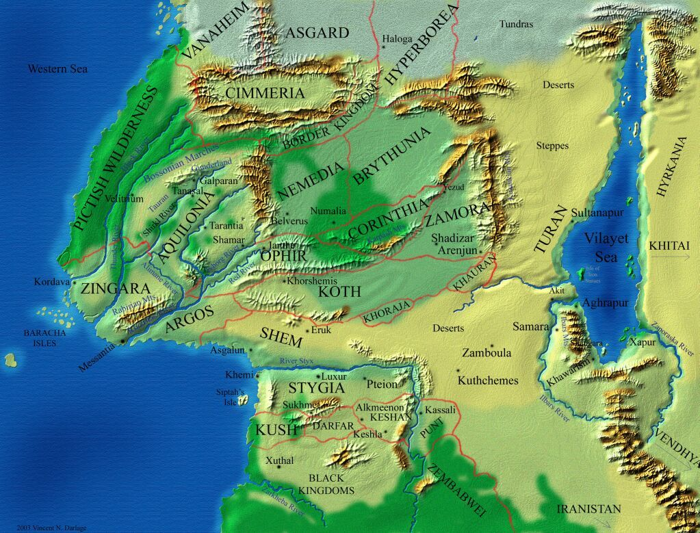 Europe africa and asia during the hyborian age when conan the europe africa and asia during the hyborian age when conan the barbarian roamed gumiabroncs Images