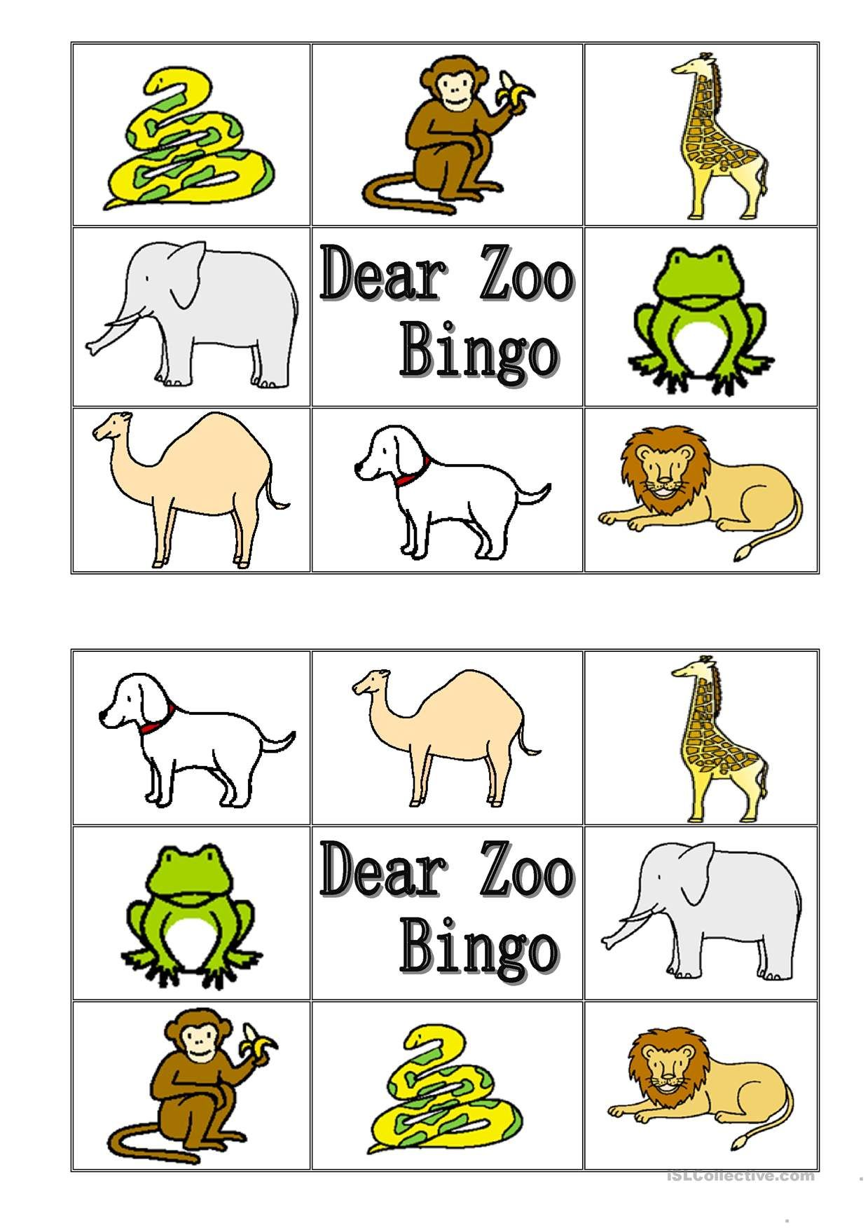 worksheet Dear Zoo Worksheet one click print document activities to try pinterest dear zoo document