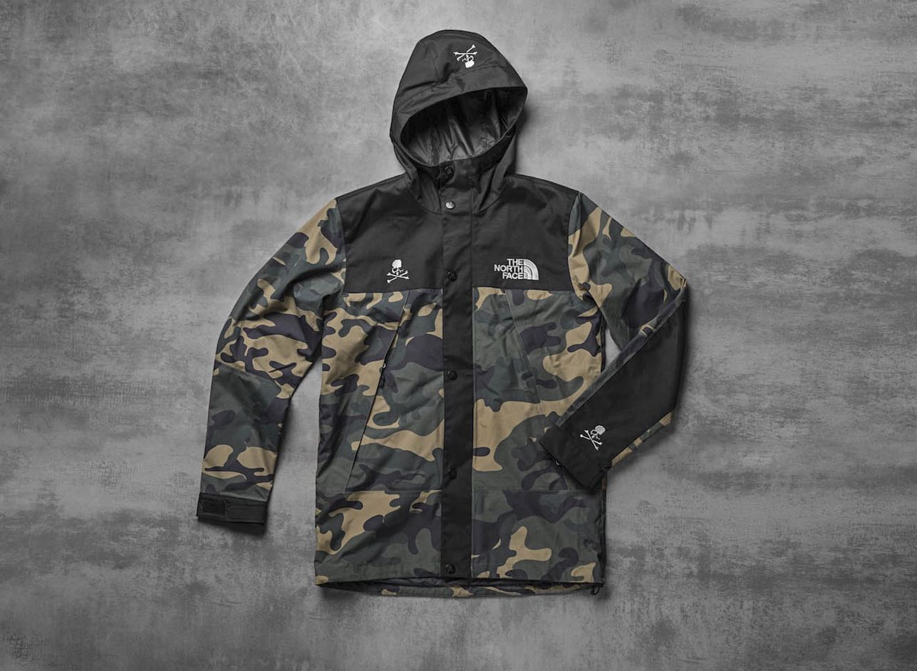 53f1983df mastermind WORLD x The North Face   Street wear   Camo shirts, The ...