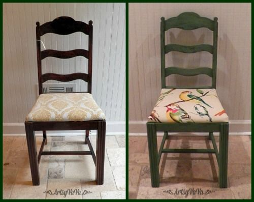 Hometalk :: Bird Upholstery Chair Makeover