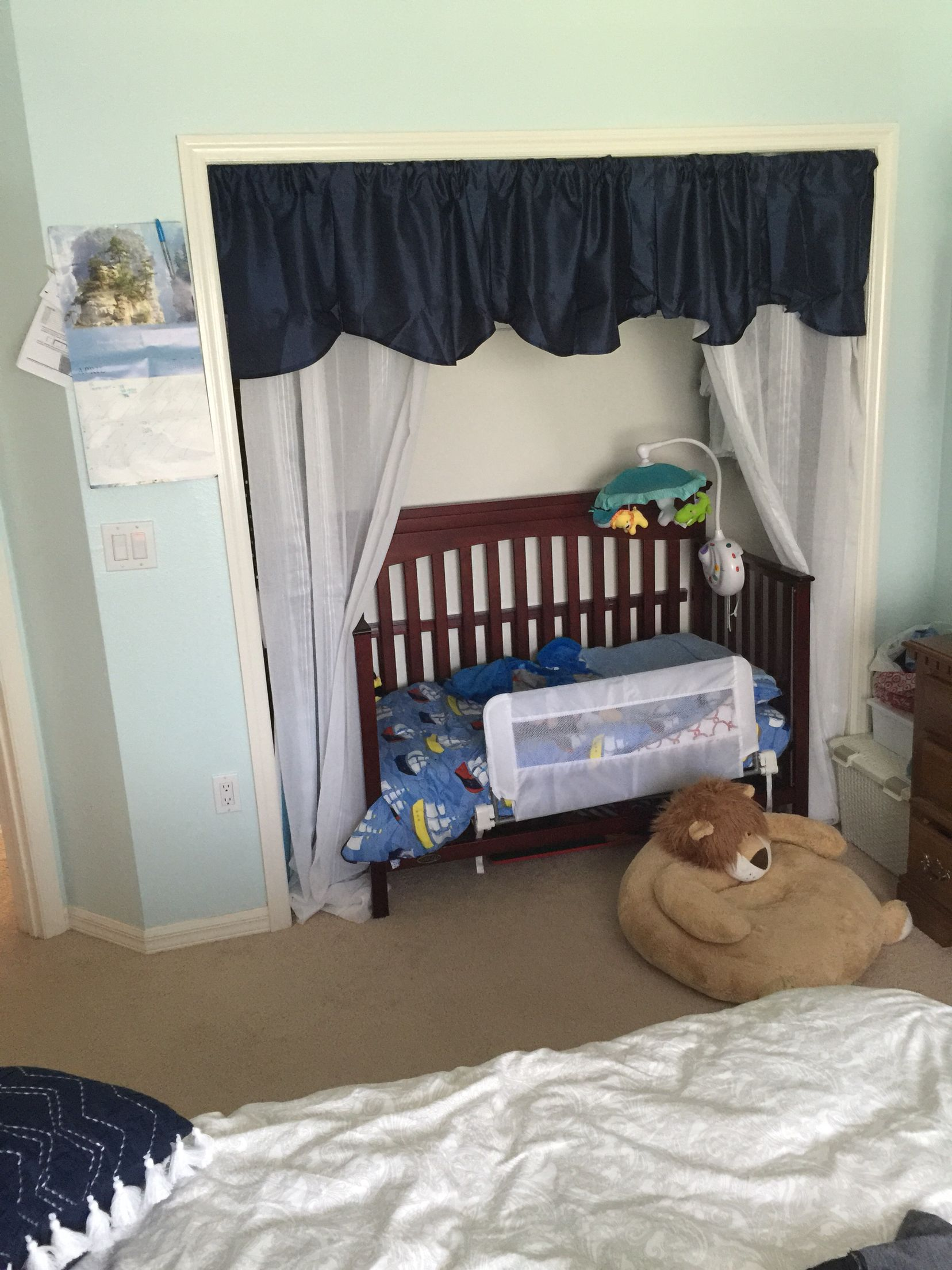 Toddler Bed In Closet