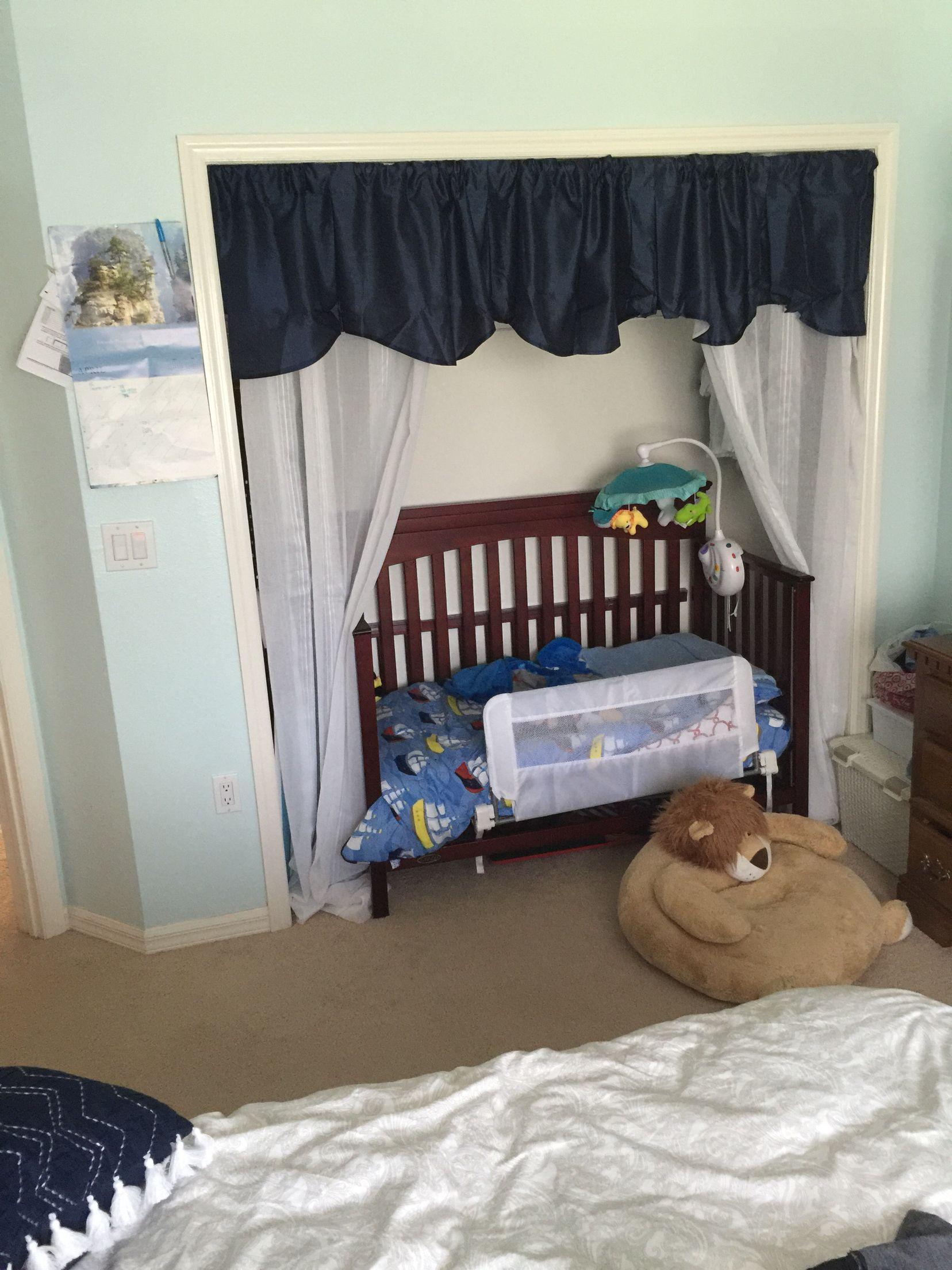 Toddler Bed In Closet Bed In Closet Toddler Bed Toddler Closet