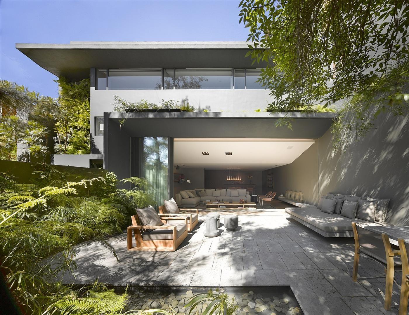 The Barranca House in Mexico City