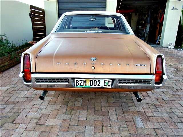 Chevrolet Constantia South Africa 70s Reenboog It Australian