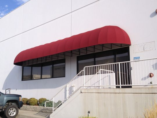 Fabric Awning Recover For Chimney Rock Industrial Park In Spokane Fabric Awning Industrial Park Awning