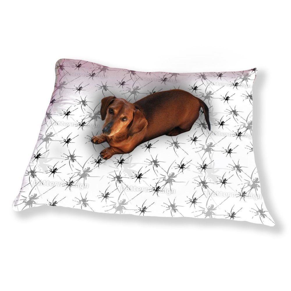 Uneekee The Black Widows Dog Pillow Luxury Dog / Cat Pet Bed