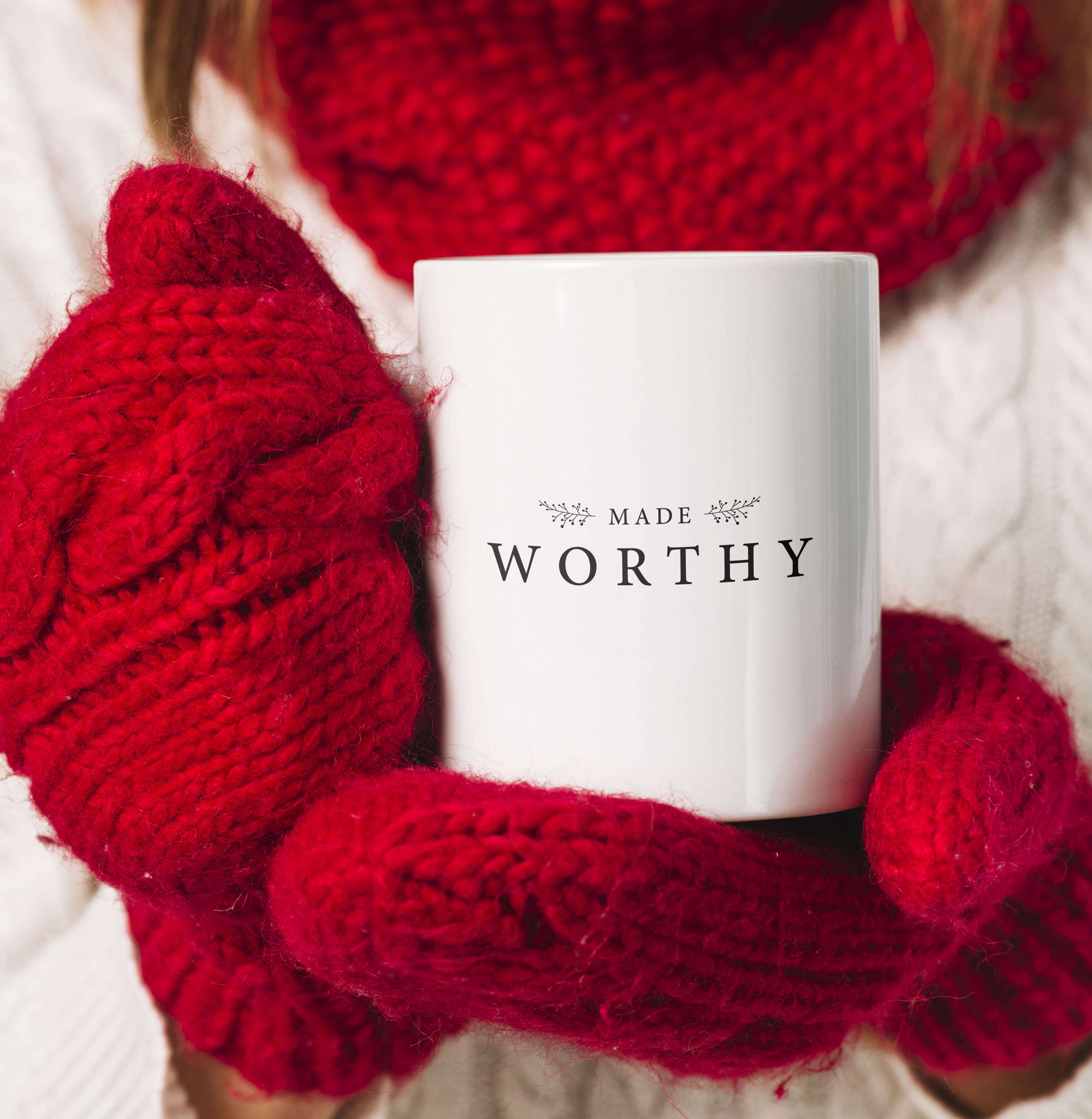 Made Worthy Coffee/Tea Mug white (With images) Mugs