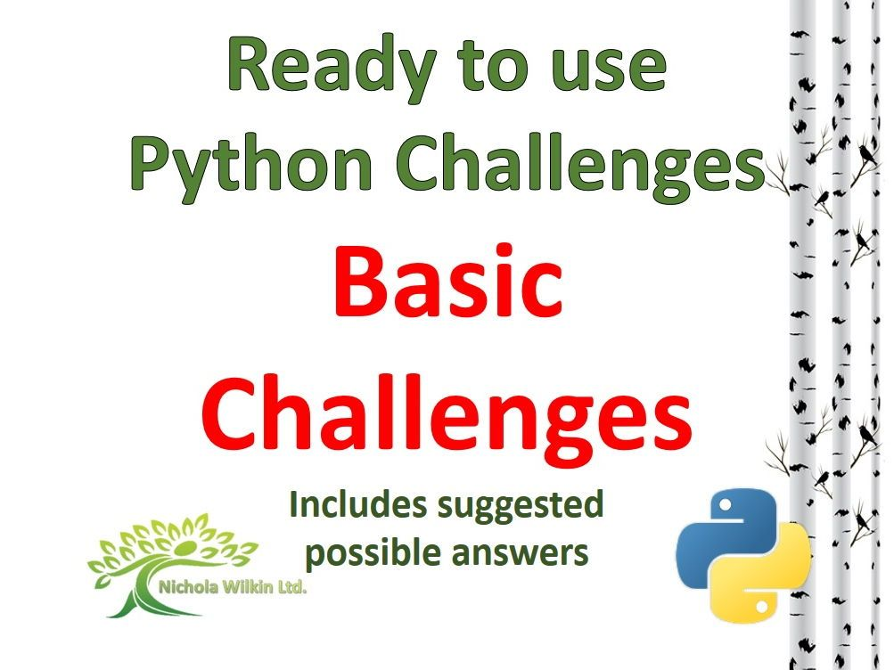 python challenges for beginners