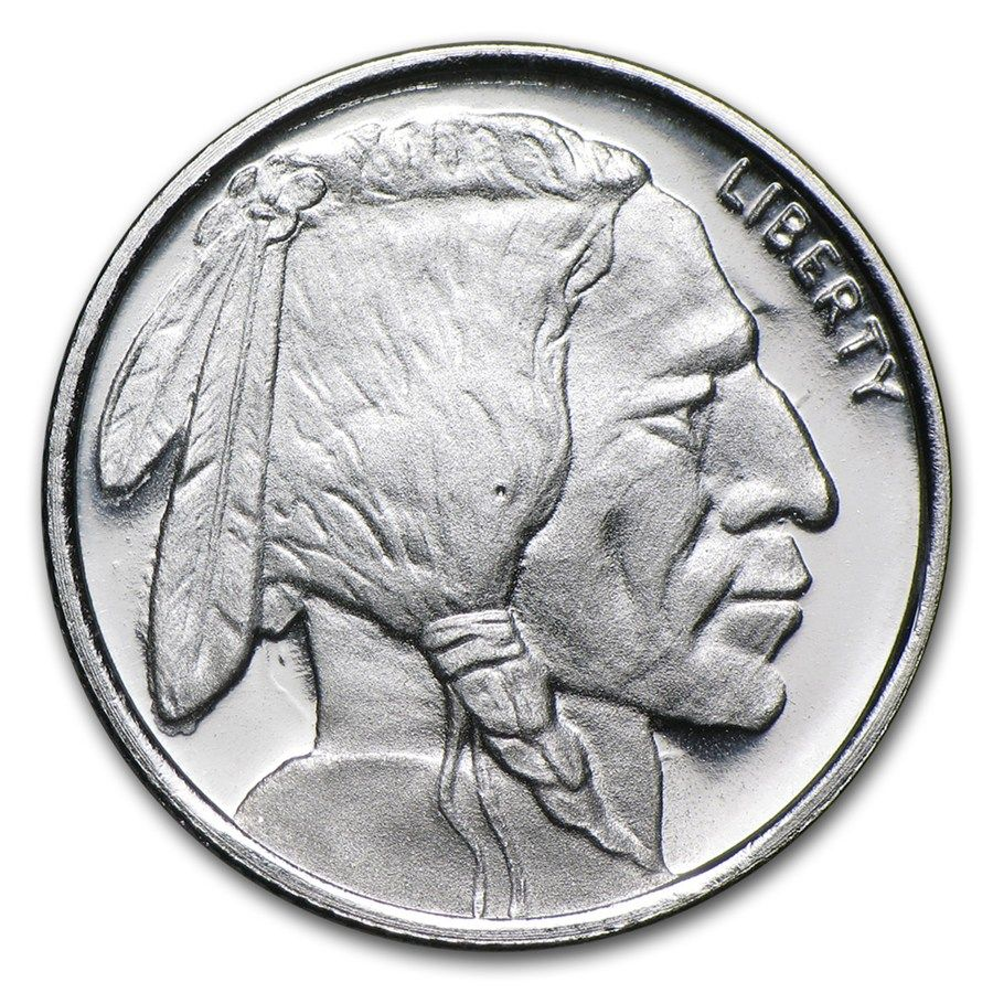 1 10 Oz Silver Buffalo Round Tenth Ounce Silver Rounds For Sale Apmex Silver Bullion Silver Spot Price Coins