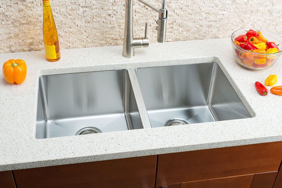 Hahn Small Radius Extra Large Equal Double Bowl Sink Double Bowl Undermount Kitchen Sink Double Bowl Kitchen Sink Outdoor Kitchen Countertops