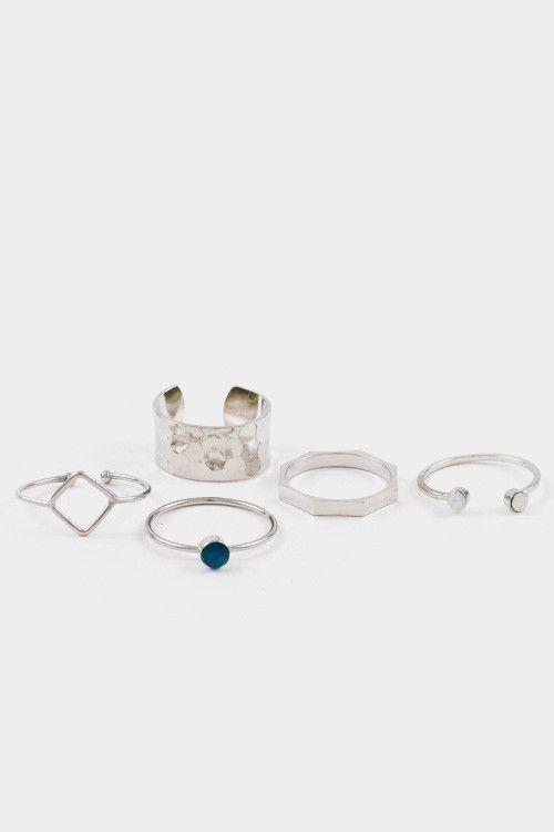 Indie Princess Ring Set