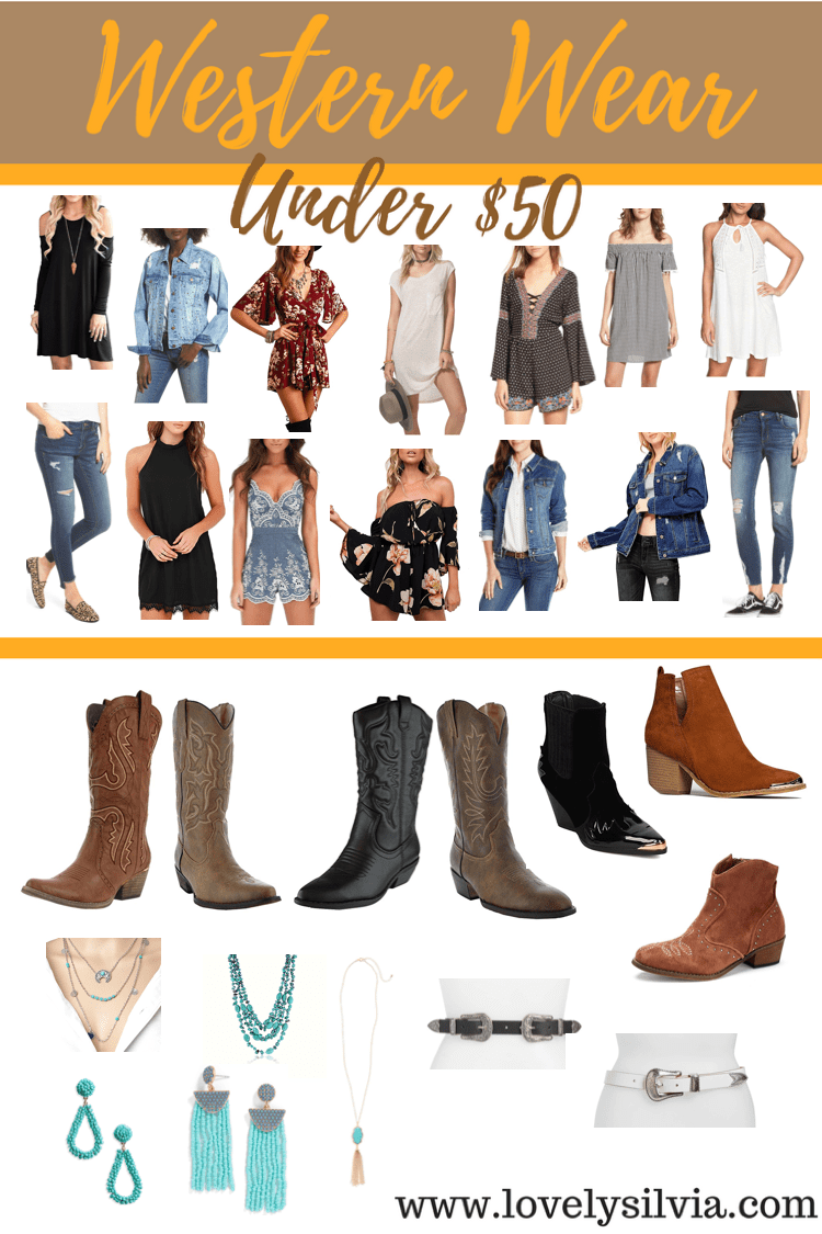 Western Wear Under $11  Lovely Silvia  Rodeo outfit texas, Rodeo