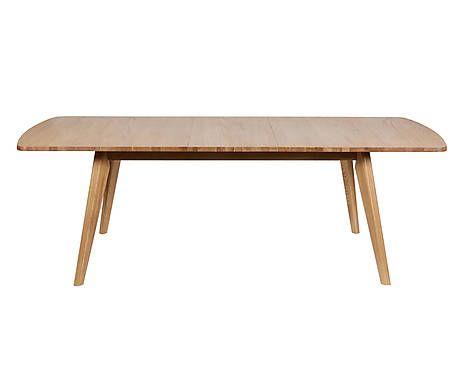 Tavolo da pranzo allungabile in legno DAKOTA - 74x180x90 cm ...