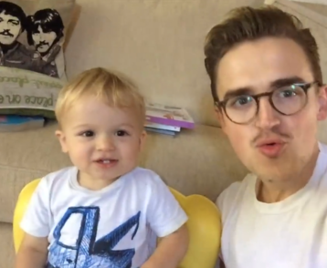 Musician's fatherson duet of Justin Bieber's 'Baby' will