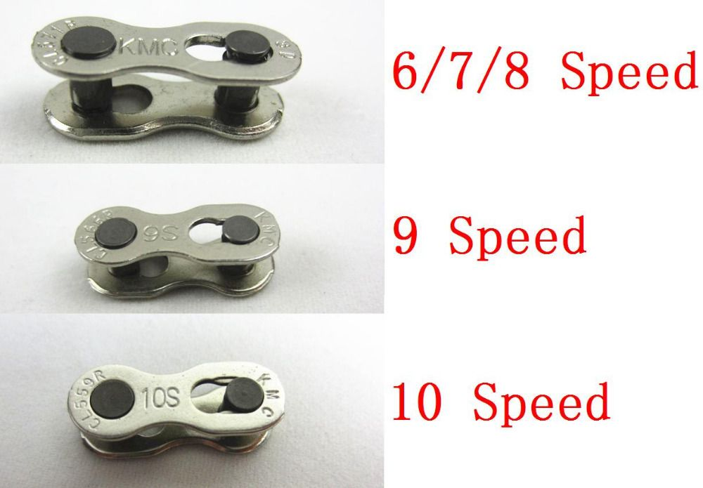 2Pcs Bike Bicycle Chain For 6//7//8//9//10 Speet Quick Master Link Joint Connector