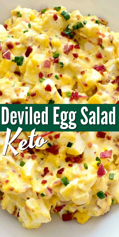 Keto Deviled Egg Salad