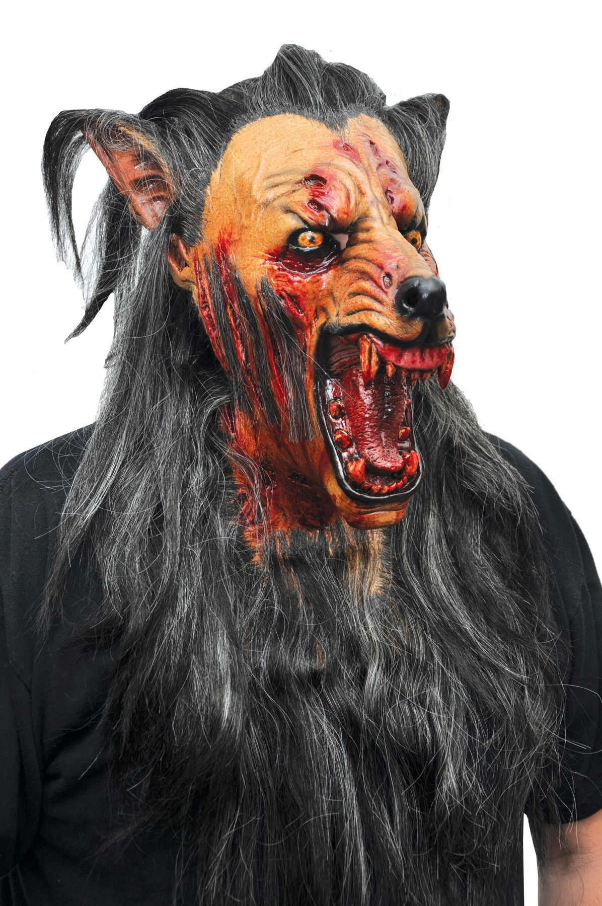 BROWN WOLF LATEX MASK | Products | Pinterest | Products, Wolves ...