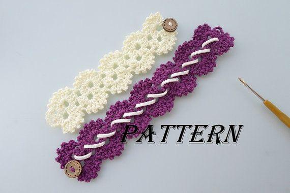 Crochet Bracelet Pattern OH | Crochet bracelet pattern, Bracelet ...