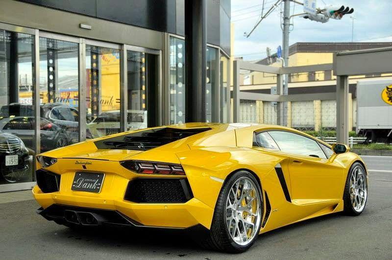 Lamborghini Aventador LP700-4 On HF-C7 by hyper Forged Wheels