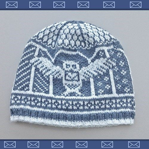 Photo of Send a Letter, With This Harry Potter Owlery Hat Pattern