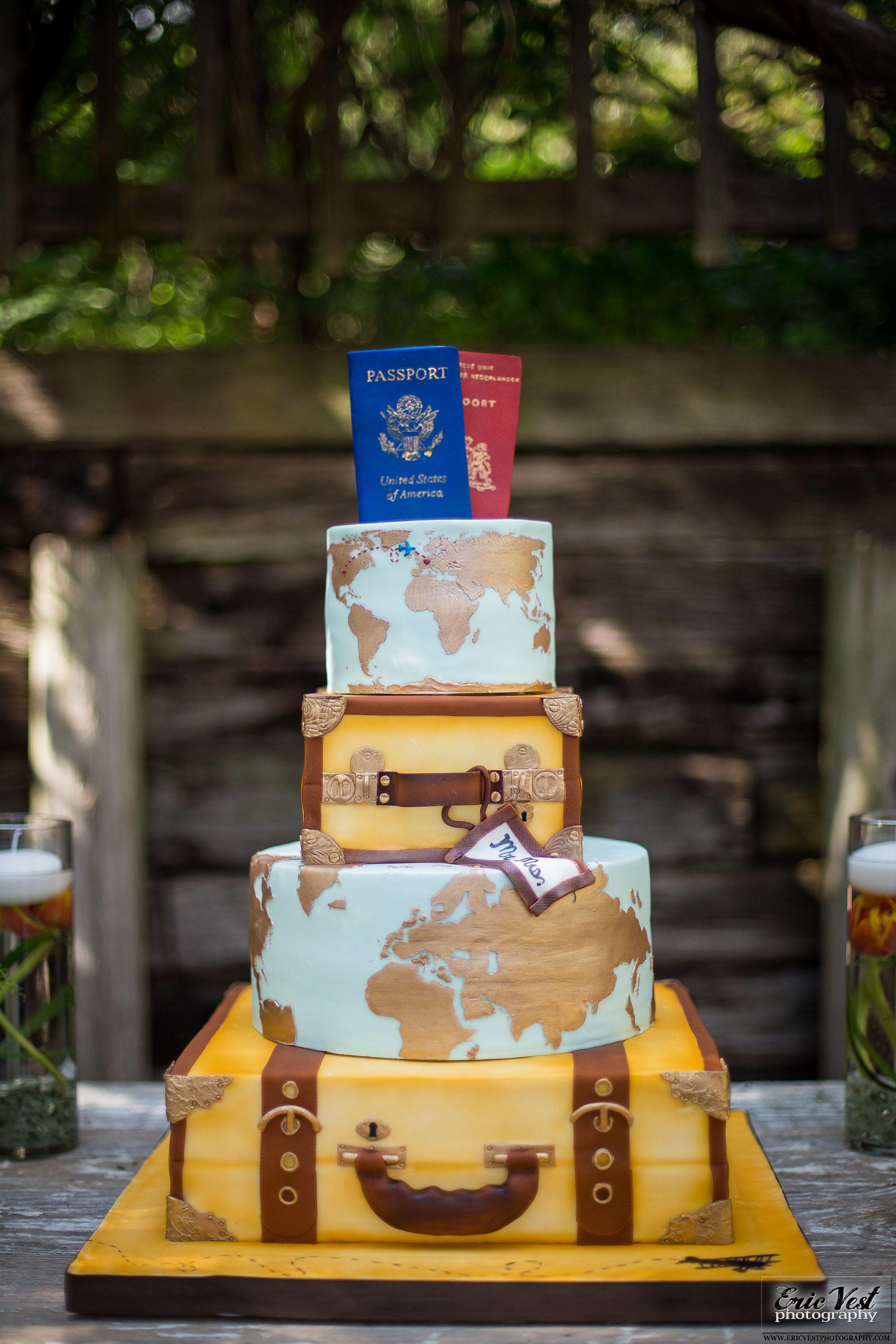 Travel Themed Wedding Cake Travel Wedding Cake Travel Cake Themed Wedding Cakes