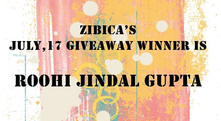 Superb Winner Of Our July17 GIVEAWAY Announced!!! Big Congrats To ROOHI :) :