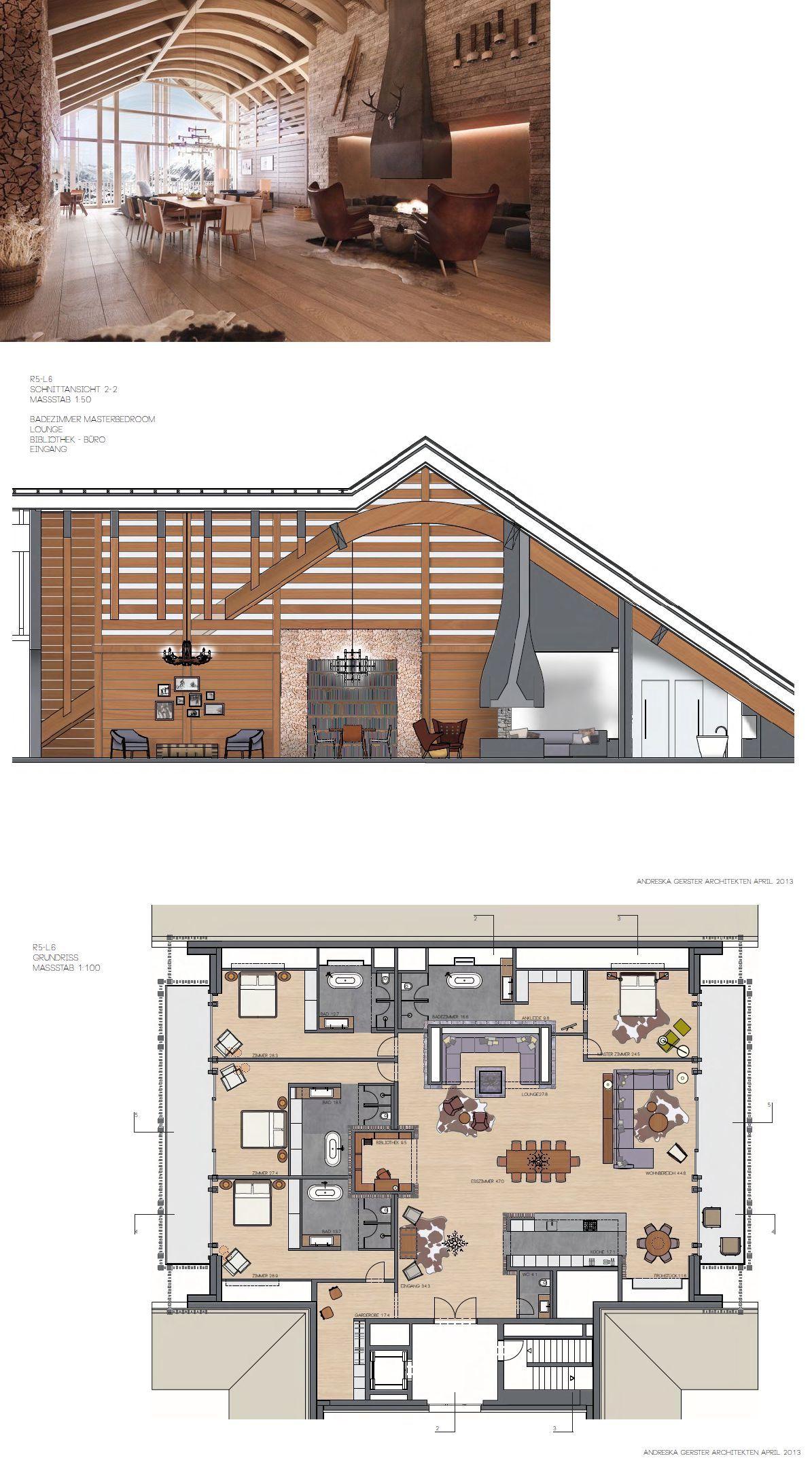 Progetto Casa 85 Mq the chedi penthouses andermatt, switzerland   majestic