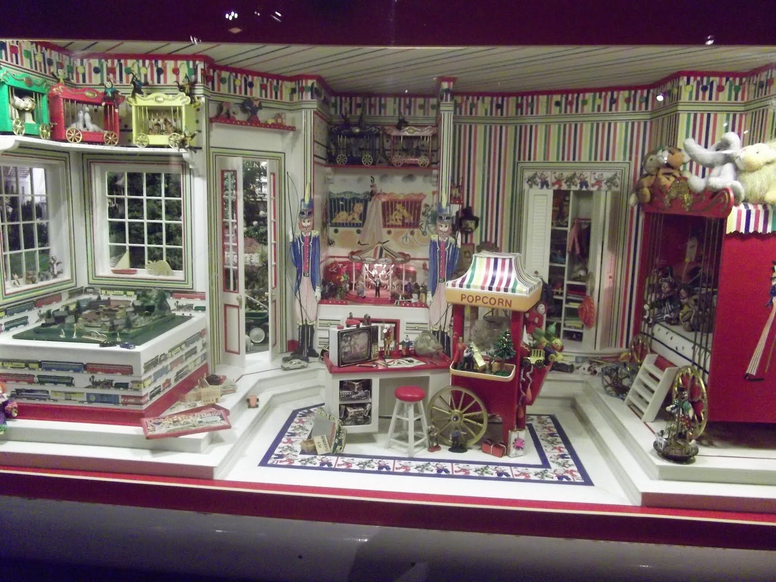 Miniature Toy Store in 1/12 scale.
